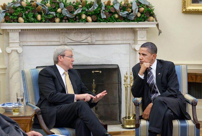Rudd and Obama