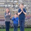 coronavirus, clapping, Prince George, Princess Charlotte, Prince Louis,