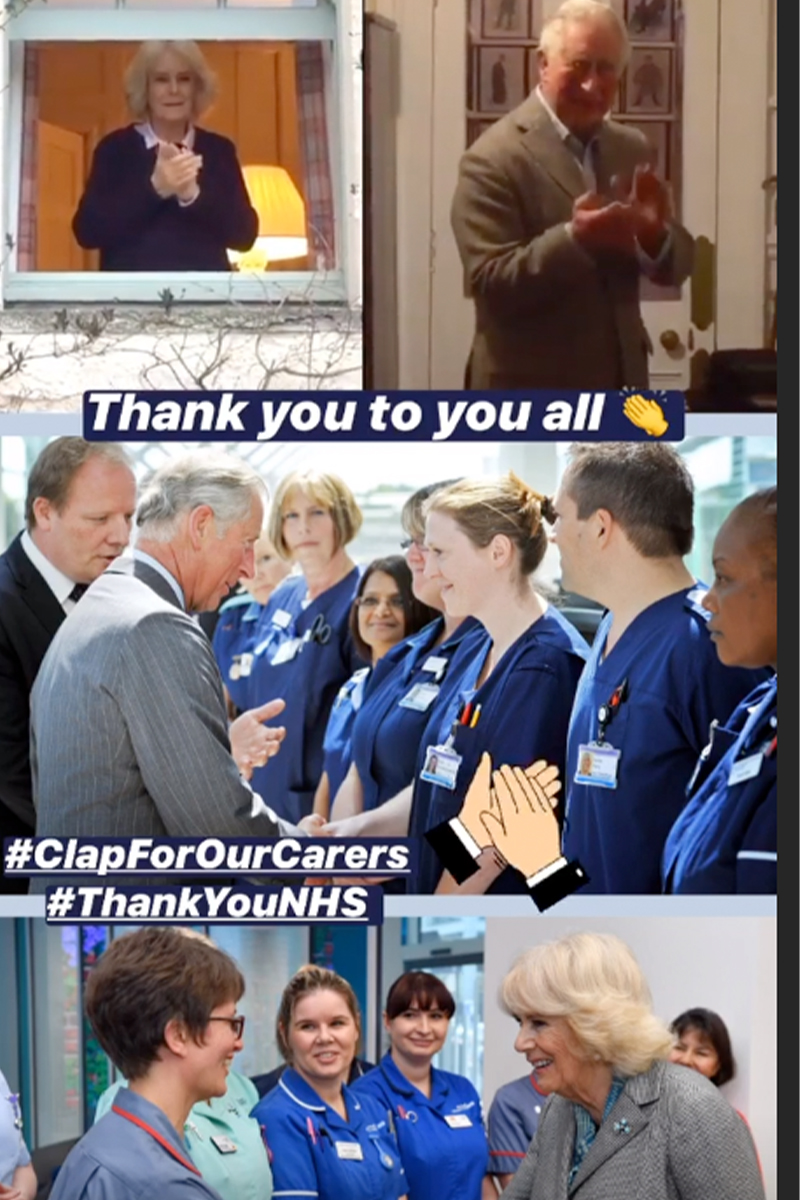 clap, Prince Charles, Clarence House