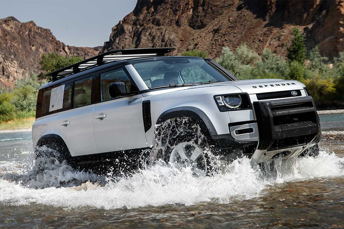 luxury cars, Land Rover Defender