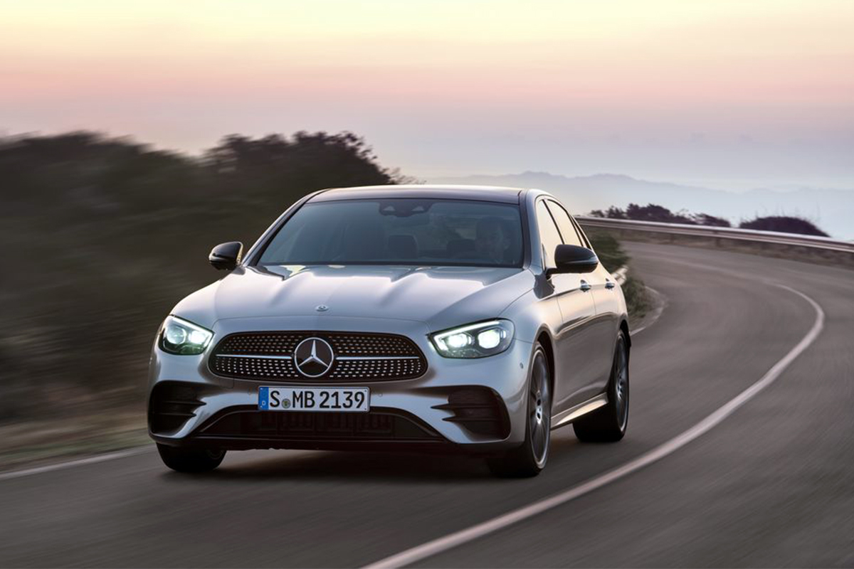 Mercedes-Benz, E-Class, steering wheel