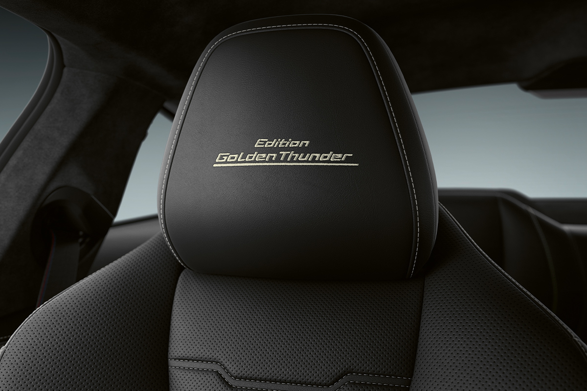 head rest, BMW 8 Series Edition Golden Thunder