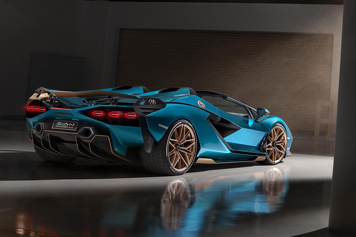 The Lamborghini Sián Roadster
