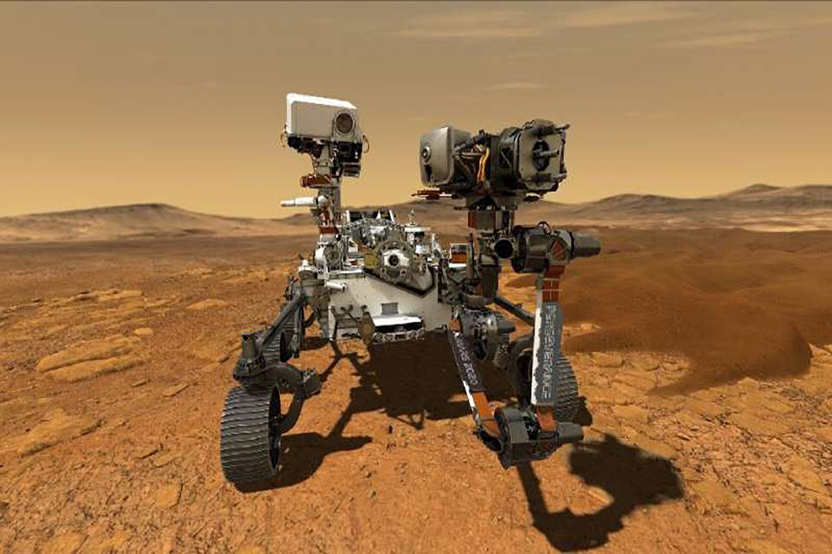 NASA's Mars rover helicopter first to fly over another planet