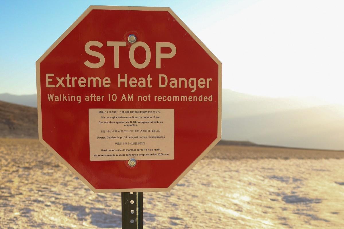 Death Valley extreme heat