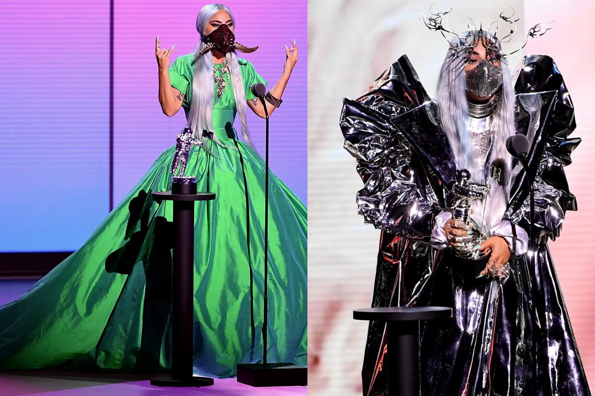 Lady Gaga S Wear A Mask Message Crystal Clear At 2020 Mtv Vmas