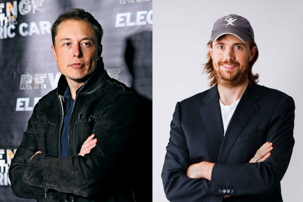 Elon Musk Mike Cannon-Brookes