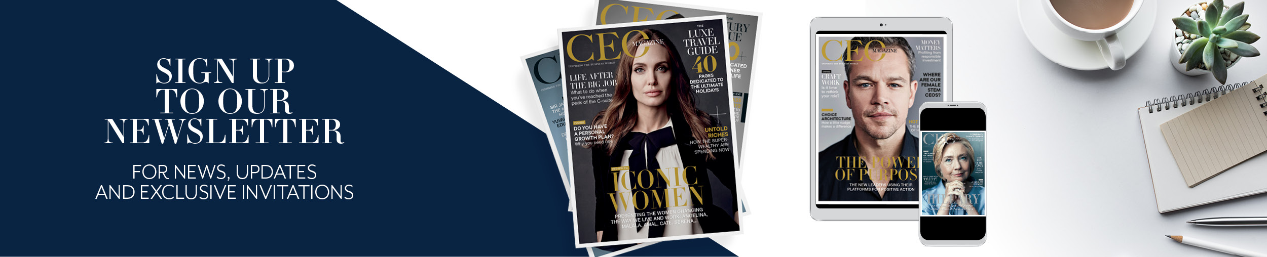 The CEO Magazine | Inspiring the business world