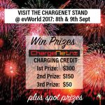 Be in to WIN at evWorld