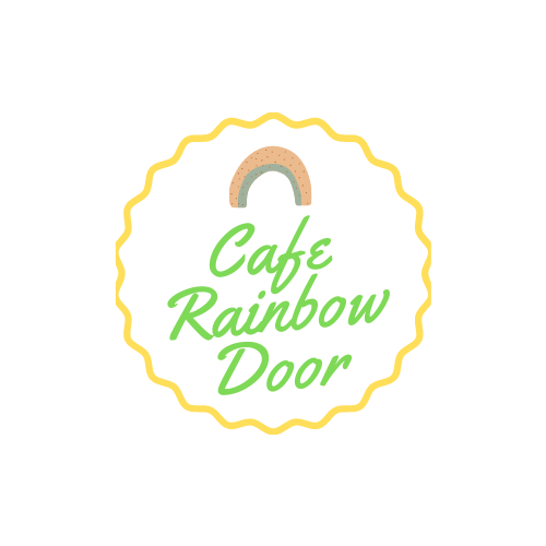 Cafe rainbow door