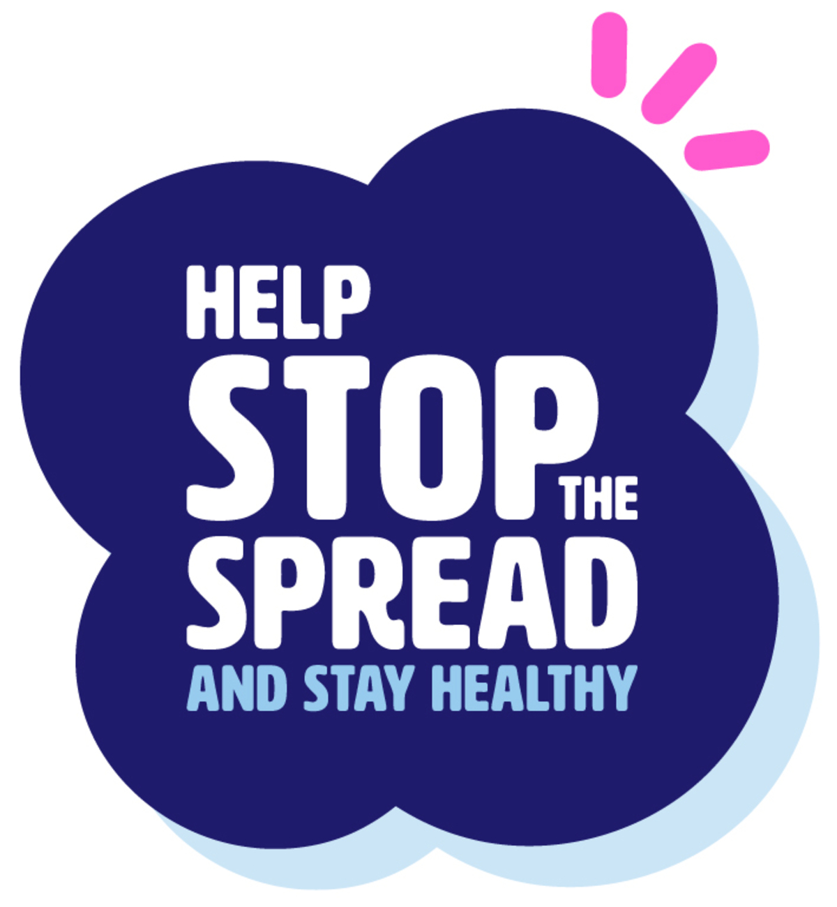 Stop the spead supporting image