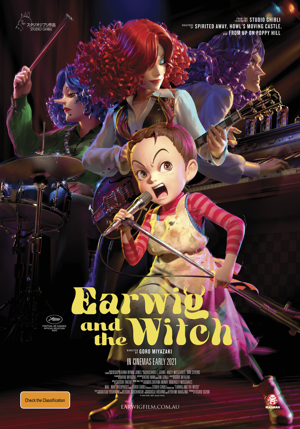 Earwig and the witch official poster