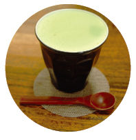 Green Tea Cappuccino ($3.70)