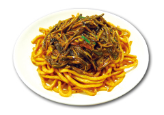 Shredded Eel Stir Fried Noodle