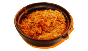 Pork Mince & Vermicelli with Chili Sauce