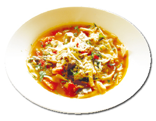 Organic Vegetable Minestrone ($9.50)
