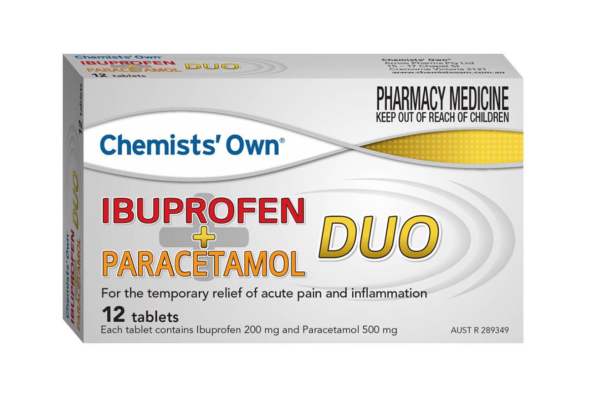Unterschied Ibuprofen Paracetamol