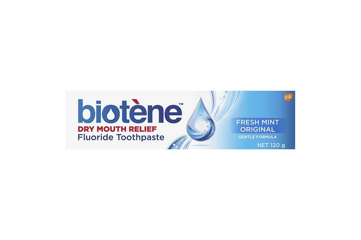 Dry Mouth Relief Fluoride Toothpaste
