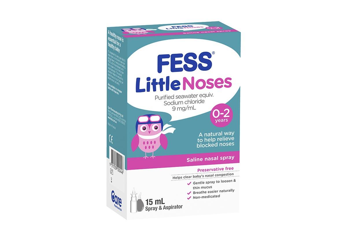 Little Noses Nasal Spray + Aspirator