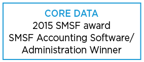 2015 SMSF Accounting & Administration Software winner