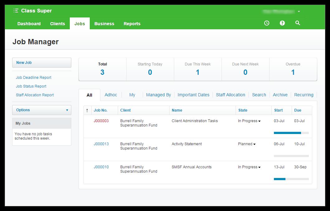 Xero Practice Manager screenshot