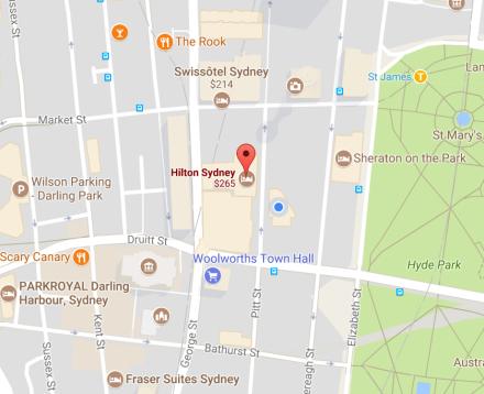 Hilton Map