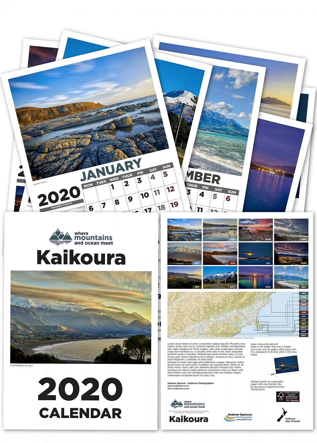 The Kaikoura Calendar 2020  | 2020-calendar-for-web.jpg