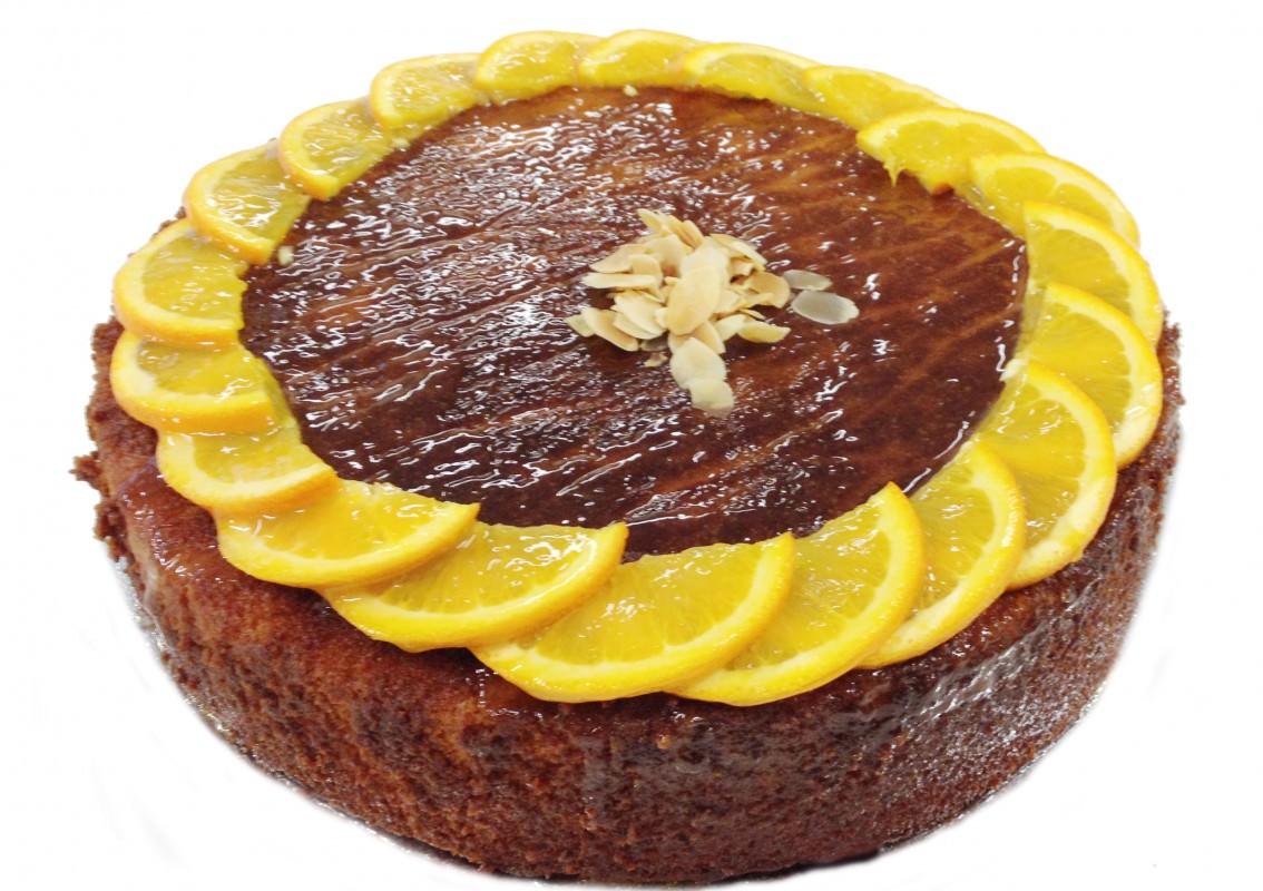 Orange Almond Cake Without Flour