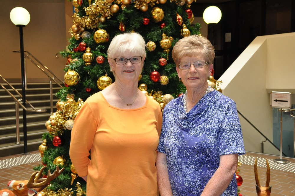 Denise Isgar and Maxine Patzel from Woodlands Grove Retirement Village kindly donated $175.50.