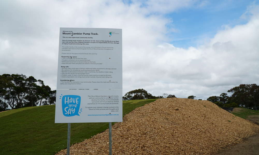Signs have now been erected at the site outlining the guidelines and considerations for use of the space.