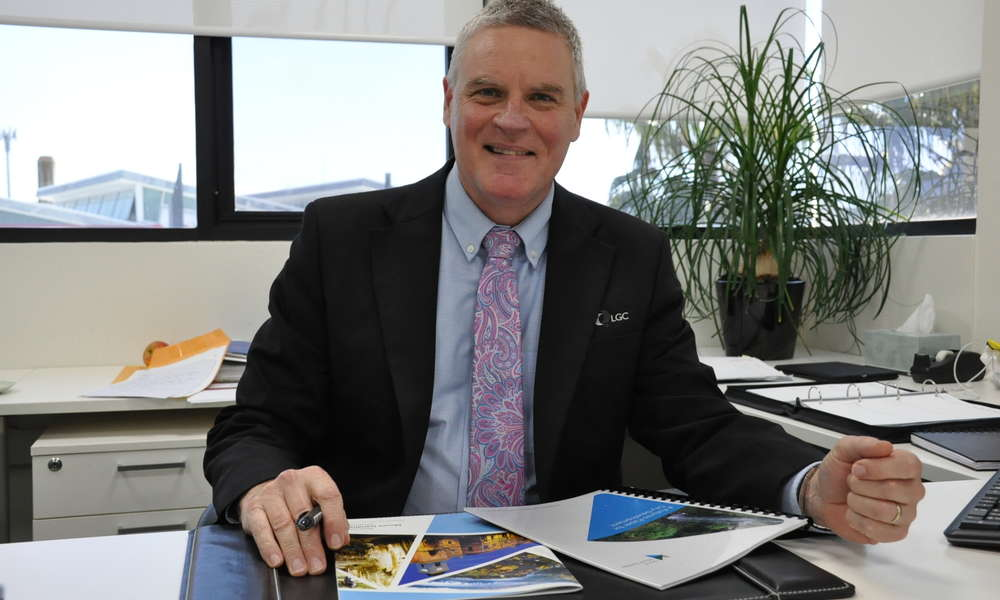 City of Mount Gambier Chief Executive Officer Mark McShane.