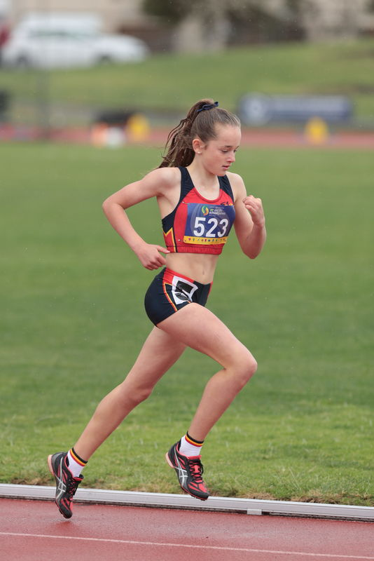 0531dd17e13dd Leila Croker was selected in the under 12 School Sport SA Track and Field  Team that