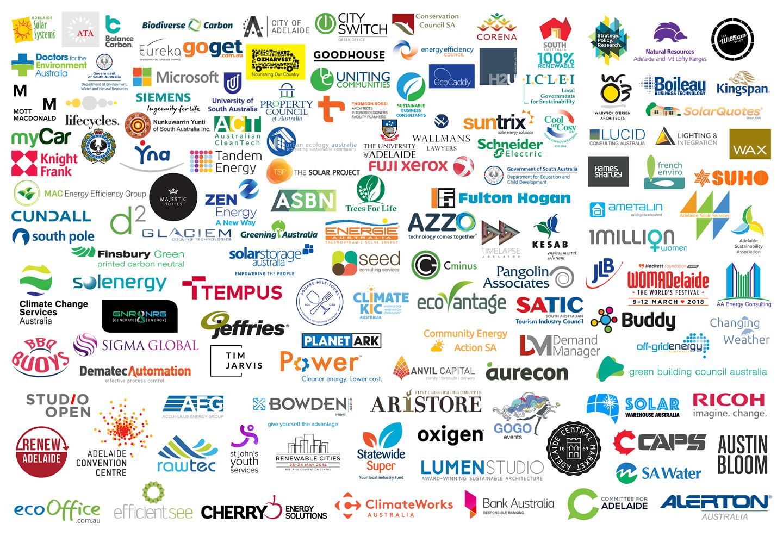 Founding Partner Logo Wall