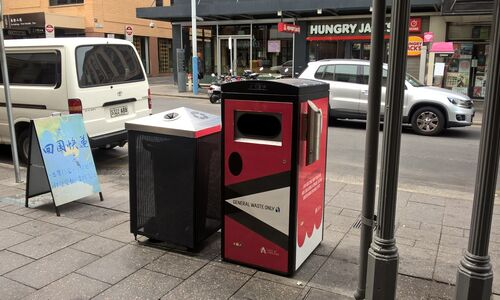 Smart Bins to Keep Adelaide's Streets Cleaner
