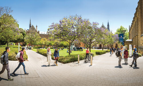 University of Adelaide leads the way as Founding Partner