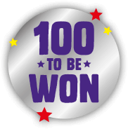 100 to be won!
