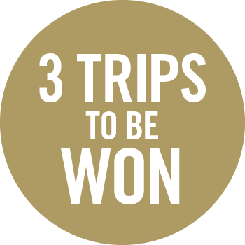 3 Trips to be won