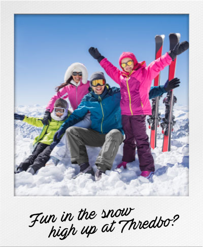 Fun in the snow high up at Thredbo?