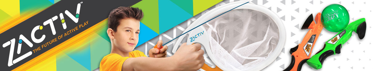 Zactiv Outdoor Active Toys