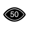 50% visual content