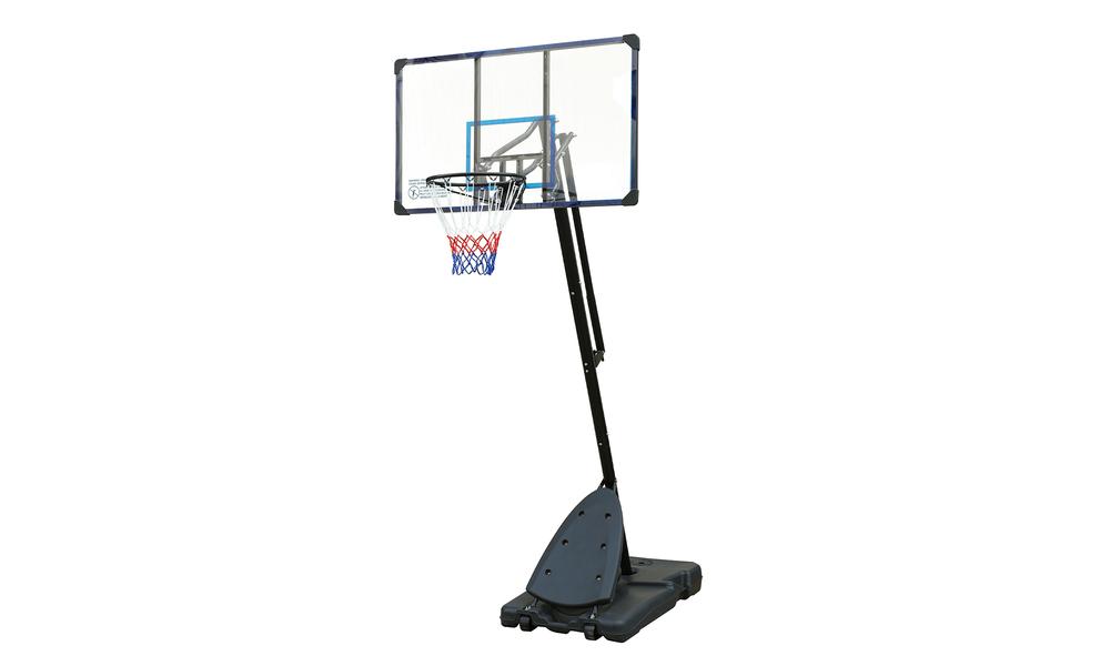 Portable angled basketball hoop 2613   web2