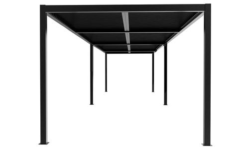 8x3 dark charcoal   aluminium pergola 2357   web1