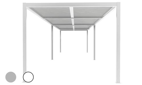 8x3 matte white   aluminium pergola 2357   web1 copy