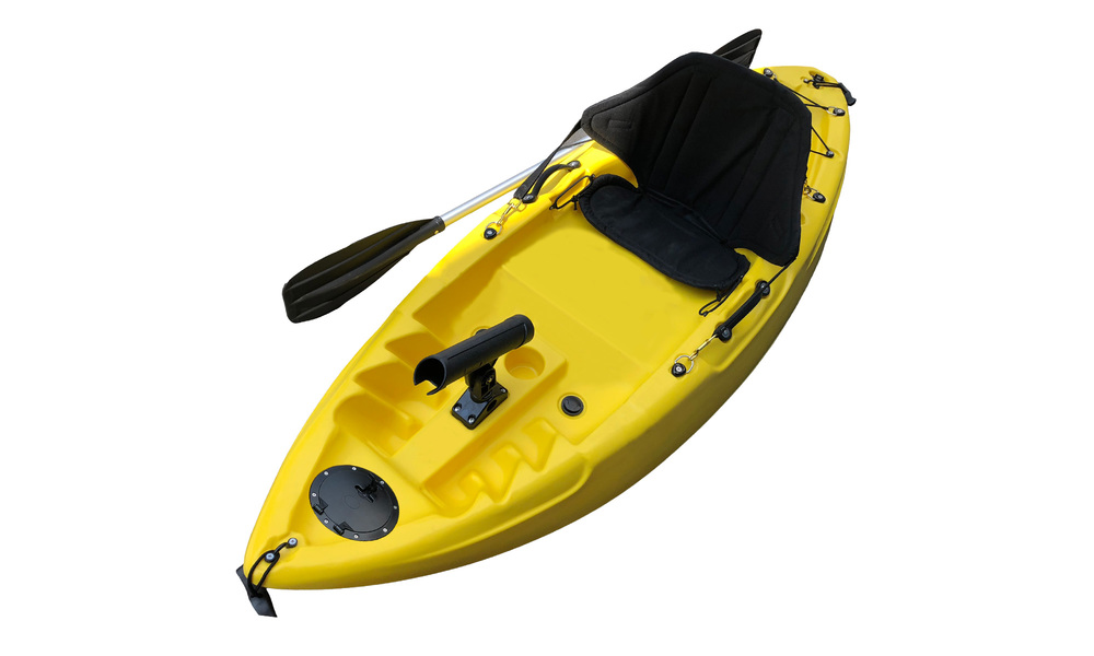 Kids kayak web   yellow