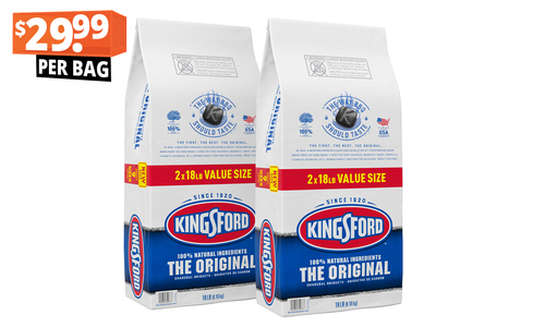 Kingsford charcoal pack of two 18lb   29.99   1407   web %281%29