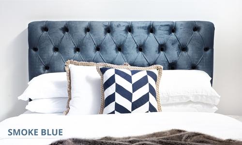 Smoke blue   kingston velvet tufted headboard   web1
