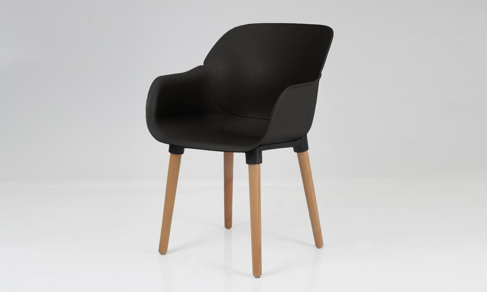 Harrison plastic tub chair black 2700   web2