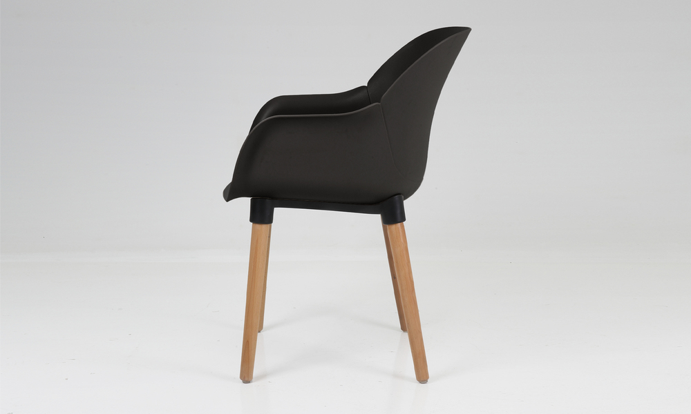 Harrison plastic tub chair black 2700   web3