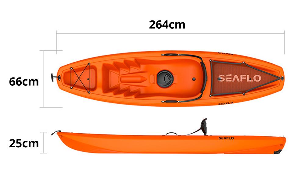 Adult kayak with paddle 2610   web3