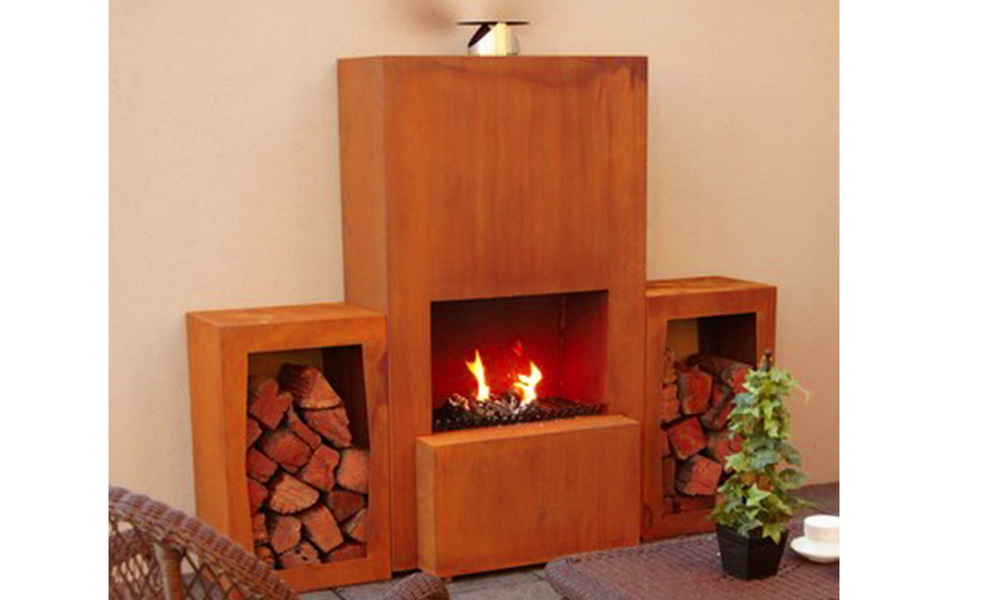 Pinacate corten terrace fireplace   web2 %283%29